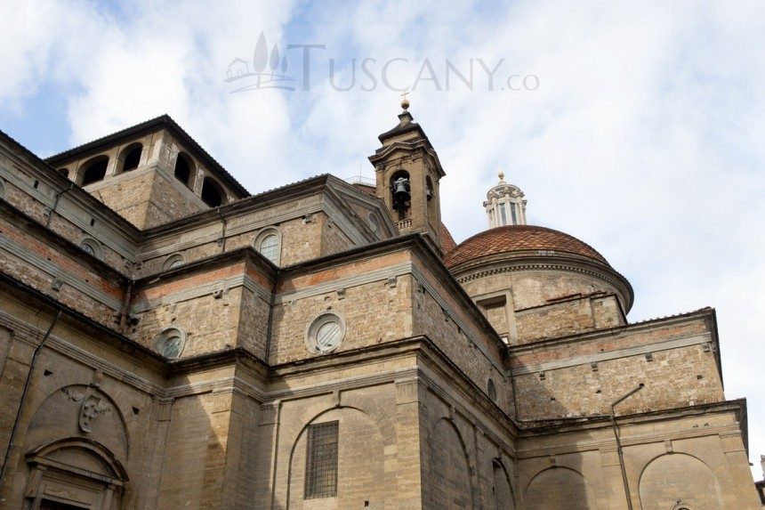 Brunelleschi Old Sacristy San Lorenzo Church Flo...
