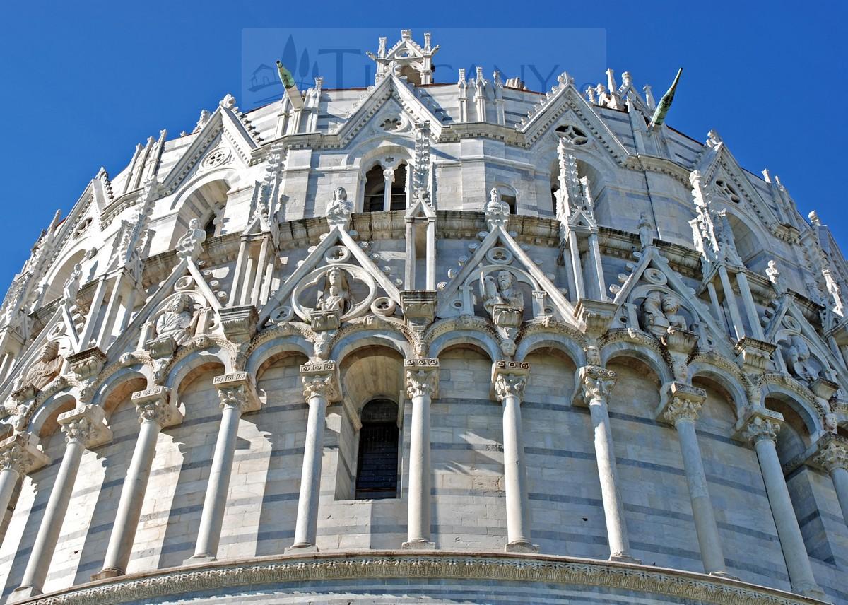 Battistero di San Giovanni Pisa Tuscany - Baptistery of St ...