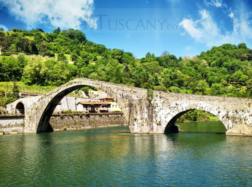Devils Bridge Garfagnana Tuscany