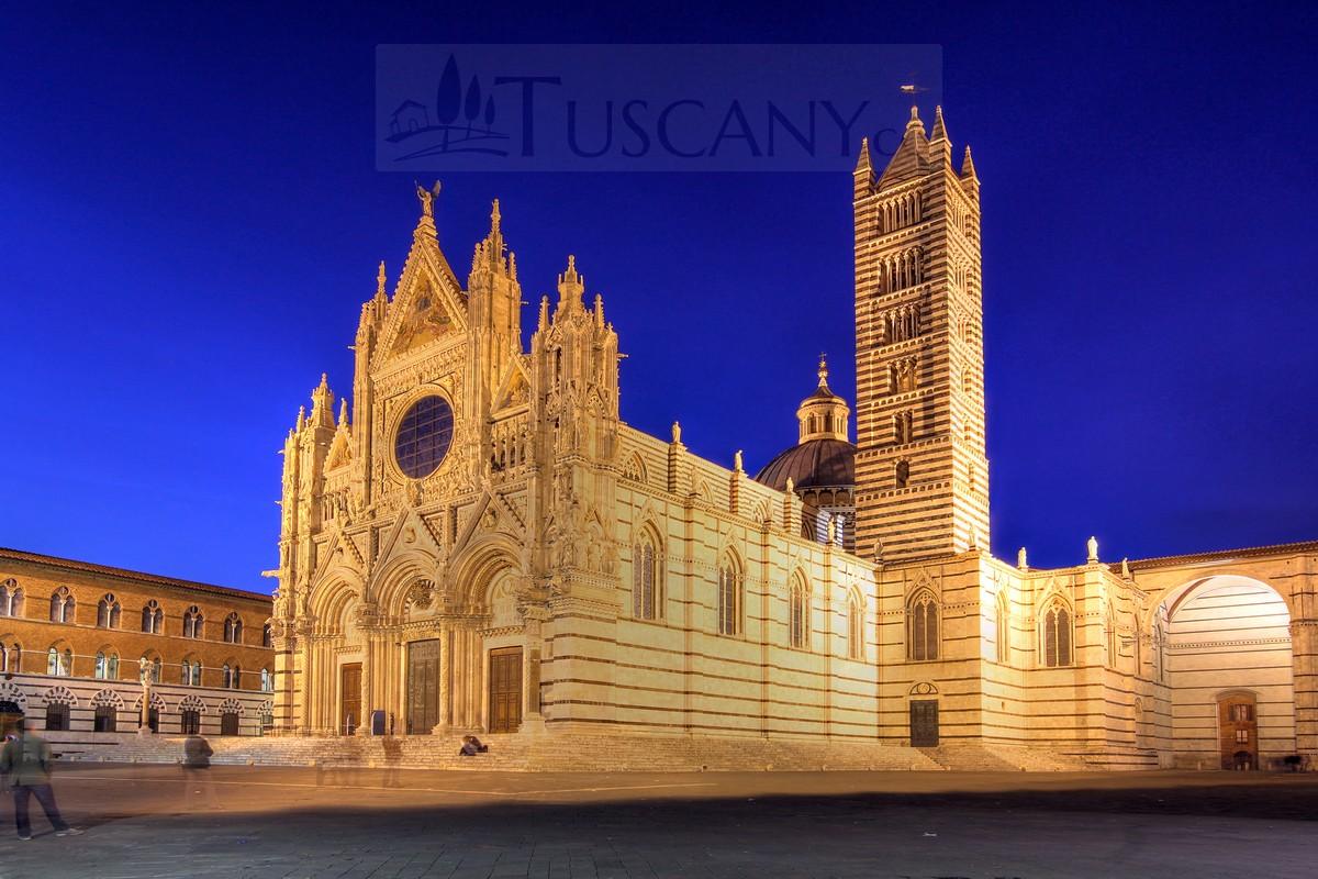 Duomo Di Siena Siena Cathedral Tuscany Santa Maria
