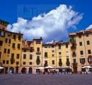 Piazza Anfiteatro Lucca Tuscany