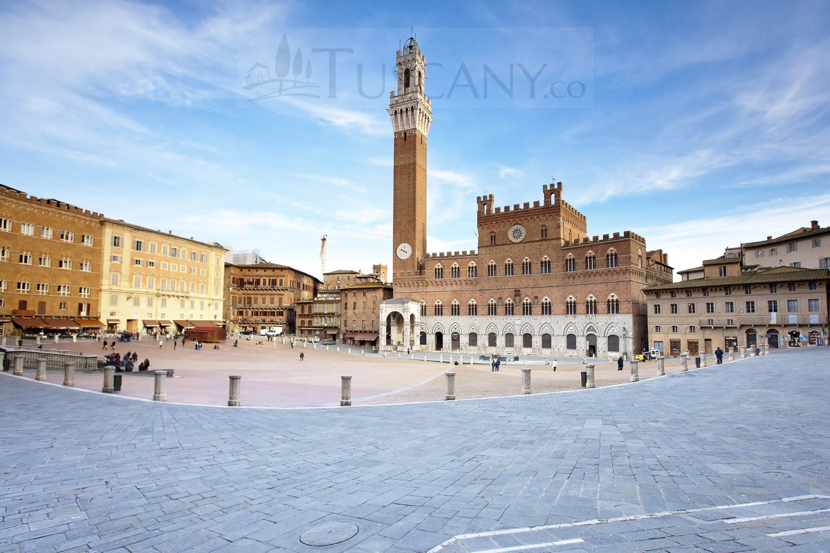 Piazza del Campo Siena Tuscany - Campo Square Siena Italy