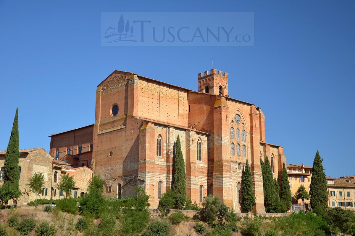 basilica cateriniana di san domenico siena tuscany