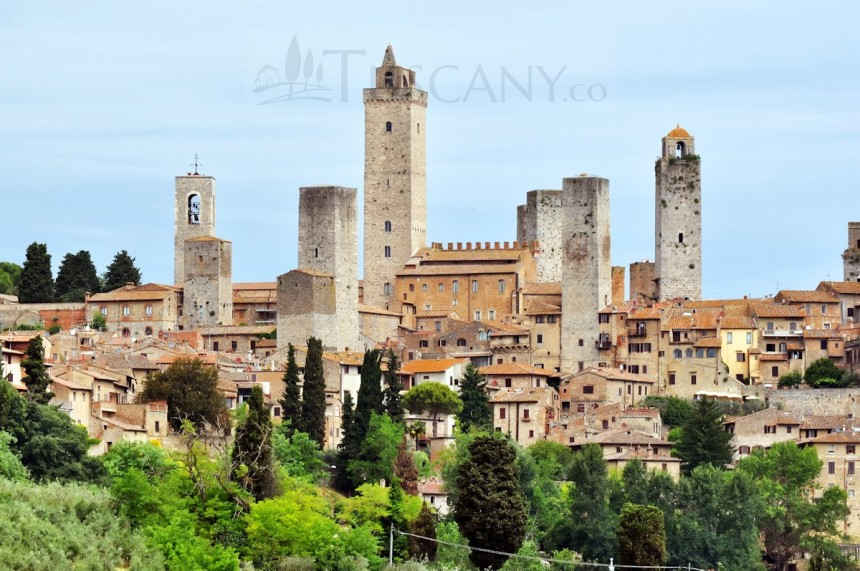 San Gimignano towers